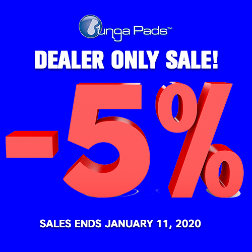 Dealer Sale - 5% No Code Required - Ends 1/11/2020